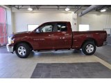 2011 Deep Cherry Red Crystal Pearl Dodge Ram 1500 SLT Quad Cab #38229943