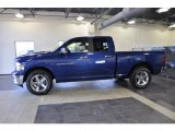 2011 Deep Water Blue Pearl Dodge Ram 1500 Big Horn Quad Cab #38229944