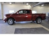 2011 Deep Cherry Red Crystal Pearl Dodge Ram 1500 Sport Quad Cab 4x4 #38229946