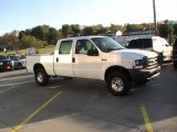 2004 Oxford White Ford F250 Super Duty XL Crew Cab 4x4 #38229956