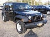 2007 Jeep Wrangler Unlimited Black