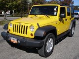 2008 Jeep Wrangler Unlimited Detonator Yellow