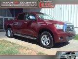 2007 Salsa Red Pearl Toyota Tundra Limited CrewMax 4x4 #38270616