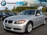 2007 Space Gray Metallic BMW 3 Series 328i Sedan #38276448