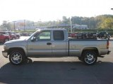 2002 Light Pewter Metallic Chevrolet Silverado 1500 LT Extended Cab 4x4 #38270442