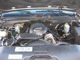 2002 Chevrolet Silverado 1500 LT Extended Cab 4x4 5.3 Liter OHV 16 Valve Vortec V8 Engine