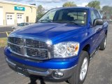 2008 Electric Blue Pearl Dodge Ram 1500 Big Horn Edition Quad Cab 4x4 #38276474