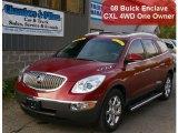 2008 Dark Crimson Metallic Buick Enclave CXL AWD #38276711
