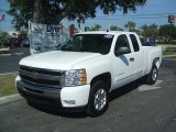 2011 Summit White Chevrolet Silverado 1500 LT Extended Cab #38276497