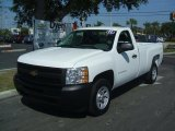 2011 Summit White Chevrolet Silverado 1500 Regular Cab #38276498