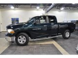 2011 Hunter Green Pearl Dodge Ram 1500 SLT Quad Cab #38276718