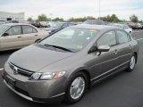 2006 Galaxy Gray Metallic Honda Civic Hybrid Sedan #38276987