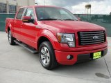 2010 Vermillion Red Ford F150 FX2 SuperCrew #38276726
