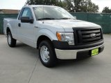 2010 Ingot Silver Metallic Ford F150 XL Regular Cab #38276731