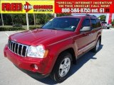 2006 Inferno Red Crystal Pearl Jeep Grand Cherokee Limited #38270717