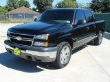 2006 Black Chevrolet Silverado 1500 LS Crew Cab #38276740