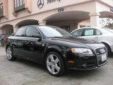 2008 Brilliant Black Audi A4 3.2 Quattro S-Line Sedan #38276556