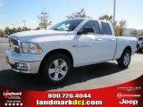 2011 Bright White Dodge Ram 1500 Big Horn Quad Cab 4x4 #38276605