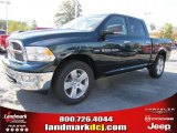 2011 Hunter Green Pearl Dodge Ram 1500 Big Horn Crew Cab #38276608