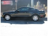 2007 Black Ford Mustang V6 Deluxe Coupe #3810521
