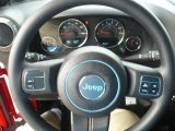 2011 Jeep Wrangler Sport 4x4 Steering Wheel