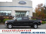 2010 Tuxedo Black Ford F150 XLT SuperCrew 4x4 #38276433