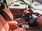 2003 Nissan Murano SL AWD Cabernet Interior