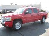 2011 Victory Red Chevrolet Silverado 1500 LT Crew Cab 4x4 #38276935