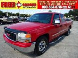 2001 Fire Red GMC Sierra 1500 SLE Extended Cab #38342691