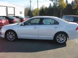 2011 White Platinum Tri-Coat Ford Fusion SEL #38342417