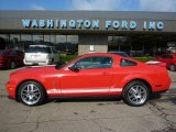 2007 Torch Red Ford Mustang Shelby GT500 Coupe #38342429