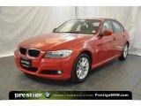 2010 Crimson Red BMW 3 Series 328i xDrive Sedan #38341870