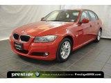 2010 Crimson Red BMW 3 Series 328i xDrive Sedan #38341871