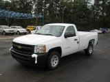 2011 Summit White Chevrolet Silverado 1500 Regular Cab #38342725