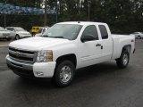 2011 Summit White Chevrolet Silverado 1500 LT Extended Cab 4x4 #38342727