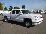 2003 Summit White Chevrolet Silverado 1500 LT Extended Cab 4x4 #38341896