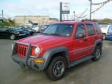 2002 Flame Red Jeep Liberty Sport 4x4 #38342233