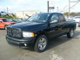 2004 Black Dodge Ram 1500 Laramie Quad Cab #38342234