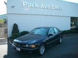 2000 Jet Black BMW 5 Series 528i Sedan #38341923