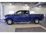 2011 Deep Water Blue Pearl Dodge Ram 1500 SLT Quad Cab #38342247