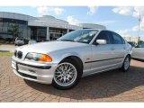 1999 Titanium Silver Metallic BMW 3 Series 328i Sedan #38342494
