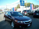 2009 Basque Red Pearl Acura TSX Sedan #38341938