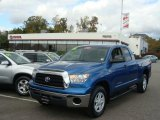 2008 Blue Streak Metallic Toyota Tundra Double Cab 4x4 #38342284