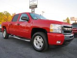 2011 Victory Red Chevrolet Silverado 1500 LT Crew Cab #38342307