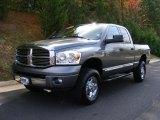 2007 Mineral Gray Metallic Dodge Ram 3500 Laramie Quad Cab 4x4 #38342572