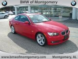 2007 Crimson Red BMW 3 Series 335i Coupe #38412982