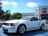 2007 Performance White Ford Mustang Shelby GT Coupe #38412785