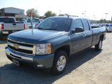 2011 Blue Granite Metallic Chevrolet Silverado 1500 LT Extended Cab #38413327
