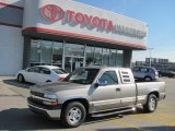 2002 Light Pewter Metallic Chevrolet Silverado 1500 LS Extended Cab #38412822
