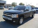 2010 Black Chevrolet Silverado 1500 LT Crew Cab 4x4 #38413340